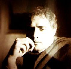 "Marlon Brando while filming ""The Appaloosa"" circa 1966."