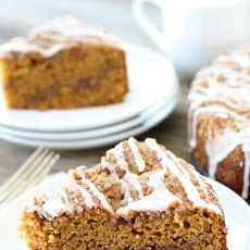 Pumpkin Cinnamon Streusel Coffee Cake Recipe