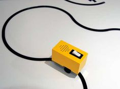 Sound Chaser, a musical toy designed by Yuri Suzuki