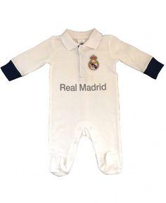 Real Madrid Baby Kit Sleepsuit - 2016 17 Season Real Madrid 7c0fdeb12b50b