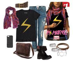 Kamala Khan aka Ms Marvel inspired fashion