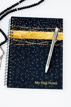 An ideal companion to take notes for your 'Journey of Faith'. A great tool to compile all your important dua's, record memories, Hajj to-do lists, travel itinerary, contact numbers etc. Makes a great