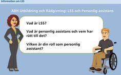 Bild från den interaktiva utbildningen om personlig assistans Appar, Persona, Ecards, Memes, Photo Illustration, E Cards, Meme