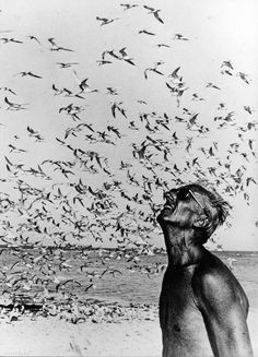 Jacques Cousteau >>>  A Stunning shot of an amazing explorer!