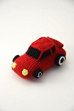Race Car - Racecar - Car - Cars - Amigurumi Toy - CROCHET PATTERN No.62                                                                                                                                                                                 More