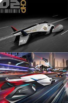 L.A. Auto Show Design Challenge: Auto Industry's Top Designers Envision Cop Car of the Future - Core77