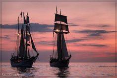 Sail Sunset von Thomas Deter