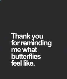 Obrigado por me lembrar o que as borboletas sentem...
