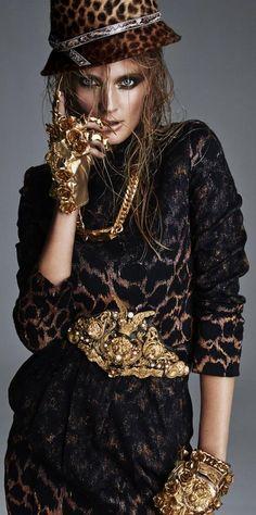 """Constance Jablonski by Greg Kadel in """"Catwoman"""" for Numéro November 2014"""