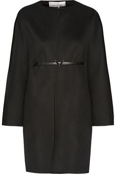 Valentino | Belted wool and cashmere-blend coat | NET-A-PORTER.COM