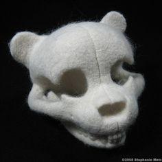 A teddy's anatomy, by Stephanie Metz.