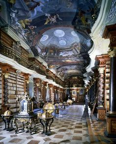 Clementinum National Library, Prague, Czech Republic
