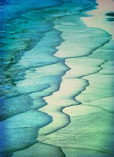 The ebb and flow of the tide in all its many colors...