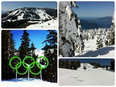 Snowboarding Cypress Mountain in Vancouver BC