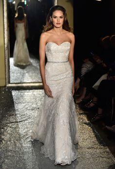 Oleg Cassini Bridal Spring 2017 | #BridalFashionWeek #Wedding Dress [Photo: Rodin Banica]