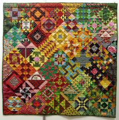 Possibly the best sampler quilt ever.