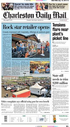 The top story Friday is the ratcheting up of tensions at Constellium's Ravenswood aluminum plant as workers dig in for their strike. In the feature story, after months of eager anticipation, crowds throng to outdoors retailer Cabela's for a festival-like grand opening.