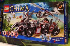 Lego Chima - 70009: Worriz's Combat Lair