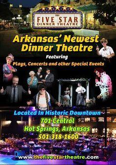 Five Star Dinner Theater hot Springs Arkansas