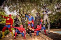 Superhero is back   event, luxuria, kids, superman, superhero, batman, spiderman, show Saint Tropez, Cannes, Monaco, Cap D Antibes, Courchevel 1850, Superman, Batman Spiderman, Animation, Kids Events