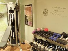 DIY by Design: Home Gym Reveal and Giveaway