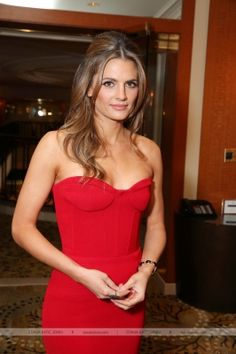 EVENTS: Stana Katic at the 2013 Oscars Luncheon Honoring Nominees