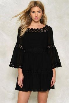 Caroline Ruffle Dress  $56.00