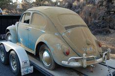 1962 Beetle Barn Find