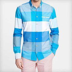 'Alex Vik' Slim Fit Sport Shirt by Moods of Norway