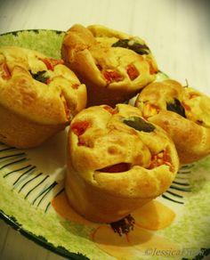 Muffin salgado de gorgonzola