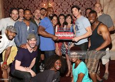 Dakin Mathews, Director Alex Timbers, Terence Archie, Andy Karl,... News Photo | Getty Images
