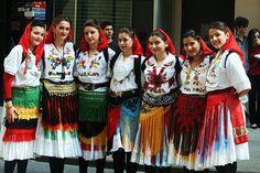 Wonderful Albanian costumes worn by Albanian girls—> SOURCE <—