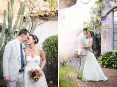 Santa Barbara Wedding with @watterswtoo Camilla Wedding Dress