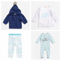 We love blue! Schattige combinatie van Wilson & Frenchy www.littlekingarthur.com