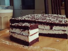 Ciasto kinder pingui   Moje Wypieki Polish Recipes, Mojito, Tiramisu, Ale, Healthy Recipes, Healthy Food, Cheesecake, Food And Drink, Sweets