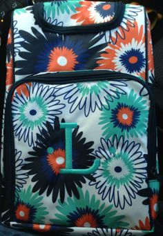 Thirty One Paradise Pop with aqua personalization