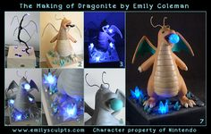 The Making of Dragonite by emilySculpts.deviantart.com on @deviantART