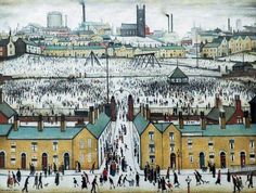 Britain at Play, United Kingdom, 1943, by Laurence Stephen Lowry.