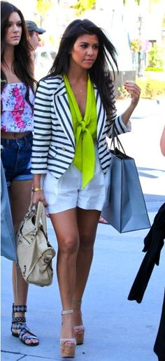 seriously, that STYLE! why cant i pull of lime green without looking like a guidette
