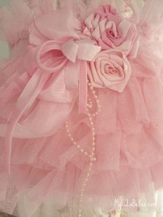 Pink Ruffle Lamp Shade by mylulabelles, via Flickr