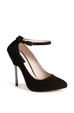 Topshop 'Giddy' Suede Pump available at #Nordstrom