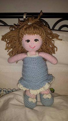 Guarda questo articolo nel mio negozio Etsy https://www.etsy.com/it/listing/494571429/bambola-crochet-amigurumi