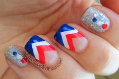 Peace, Love and Polish: Fun  Easy Fourth of July Mani