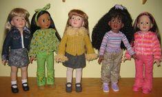 Just Magic: Magic Attic My dolls: Alison, Megan, and Keisha