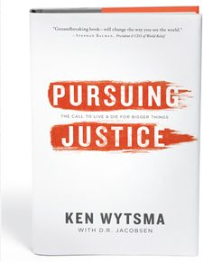 Great book about pursuing justice beyond the trends. Social justice is popular right now, but it's not a fad that will fade away because God cares about justice more than any of us ever could.