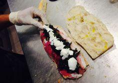 #macuto by #200Gradi  Fioccodicrudo cicoriaripassata nell *Nduja mozzarella di Bufala dop