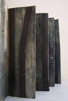 Elisabeth Couloigner, Liber Végétalis 4 | Handmade book