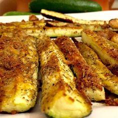 Recettes santé | Nutrisimple | Frites de courgette au parmesan