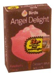 Angel Delight. what we had pretty much every night after our tea!!