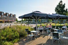 Ede Market Square « Landscape Architecture Platform | Landezine Landscape Architecture, Platform, Patio, Outdoor Decor, Home Decor, Decoration Home, Room Decor, Heel, Wedge